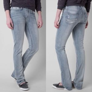 BKE | Peyton Straight Stretch Mid Rise Jeans